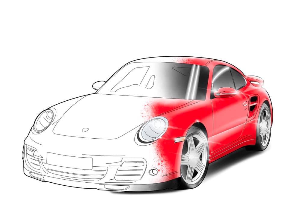 The Ultimate Porsche Colouring Book